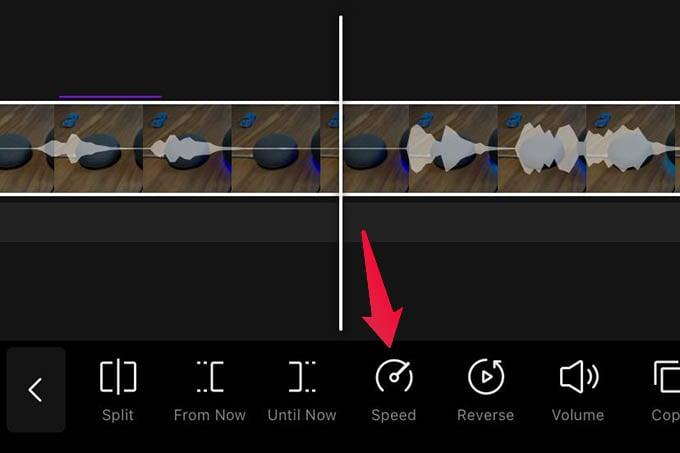 Change Speed of Video in VITA Video Life