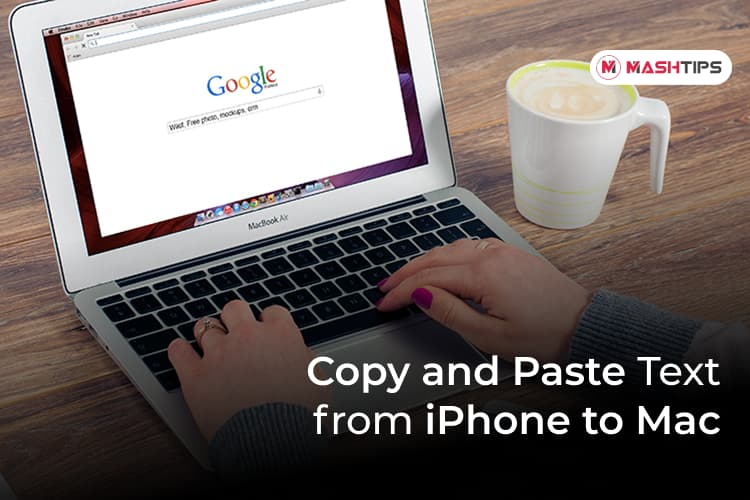 Copy and Paste Text from iPhone to Mac