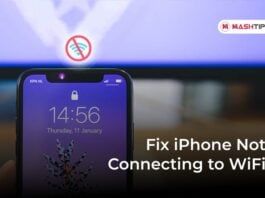 Fix iPhone Not Connecting to WiFi