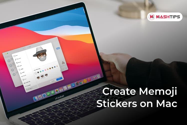 Get Memoji on Mac and Create Memoji Stickers on Mac