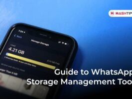 Guide to WhatsApp Storage Management Tool