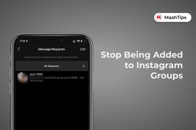 How to Stop Being Added to Instagram Groups