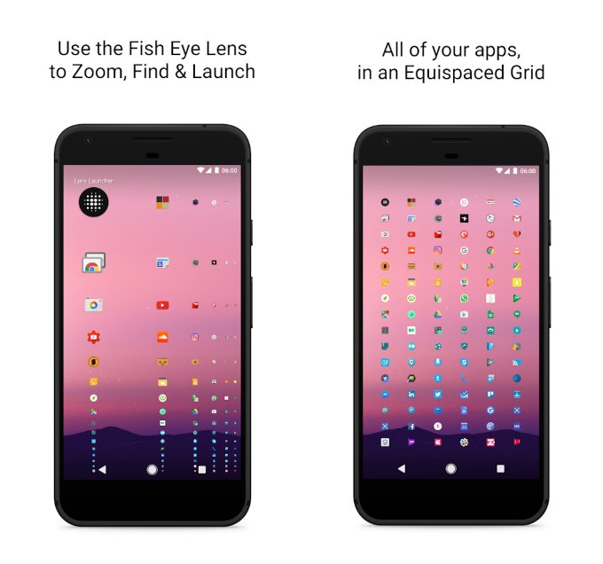 Lens Launcher Android
