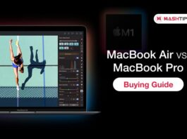 MacBook Air M1 vs MacBook Pro M1