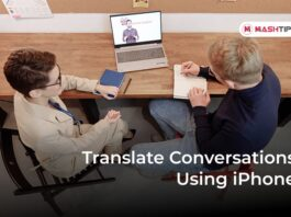 Translate Conversations Using iPhone