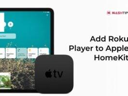 Add Roku Player to Apple HomeKit