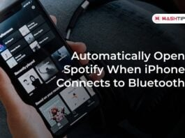 Automatically Open Spotify When iPhone Connects to Bluetooth
