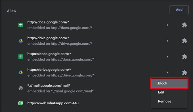 Block Site Notifications on Google Chrome