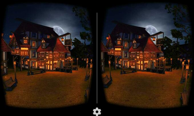 Cartoon Village for Google Cardboard