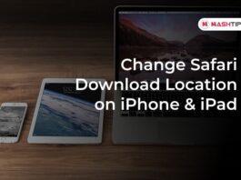 Change Safari Download Location on iPhone & iPad