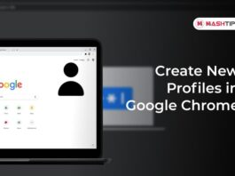 Create New Profiles in Google Chrome