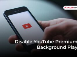 Disable YouTube Premium Background Play