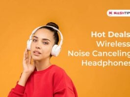 Hot Deals on Wireless Noise Canceling Headphones