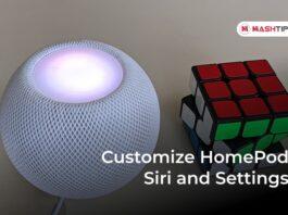 How to Customize HomePod Siri and Settings