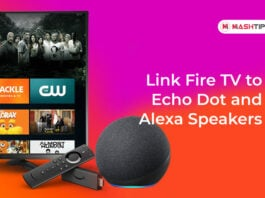 Link Fire TV to Echo Dot and Alexa Speakers