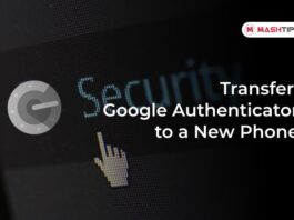 Transfer Google Authenticator to a New Phone