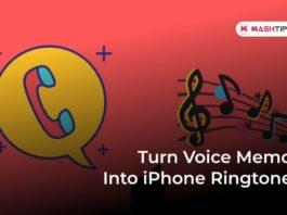 Turn Voice Memo Into iPhone Ringtone