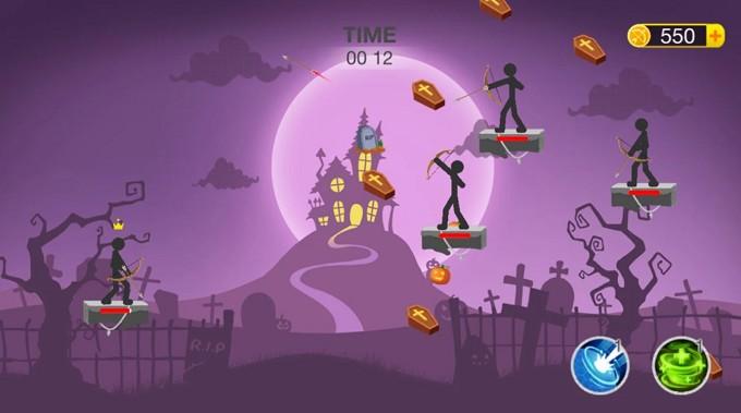 Mr Bow Halloween theme