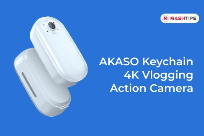 AKASO Keychain 4K Vlogging Action Camera