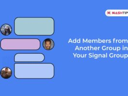 Add Members from Another Group in Your Signal Group