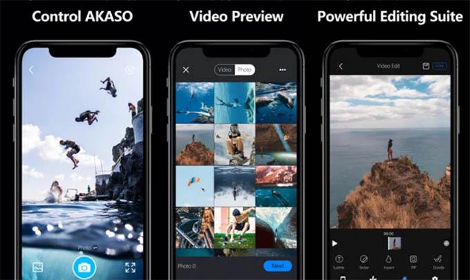 Akaso GO App