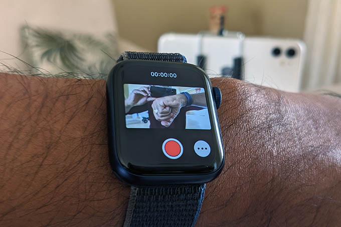 Apple Watch Camera Control App