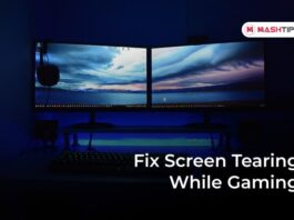 Fix Screen Tearing While Gaming