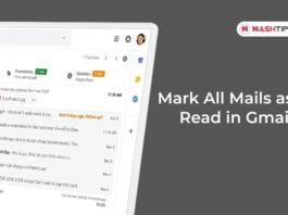 Mark All Mails as Read in Gmail