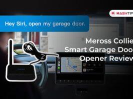Meross Collie Smart Garage Door Opener Review