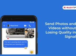 Send Photos and Videos without Losing Quality in Signal