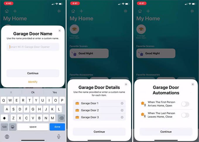 Set Up Meross Smart Garage Door Opener in HomeKit