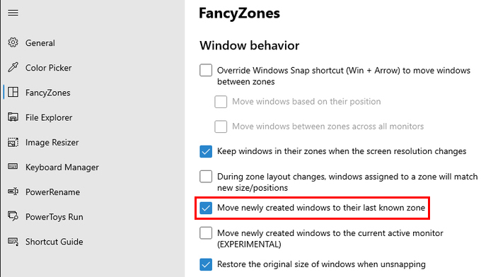 Make Windows Open in The Same Place Every Time