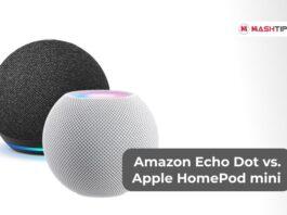 Amazon Echo Dot vs. Apple HomePod mini