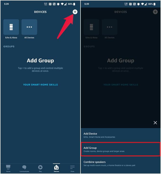 Create device groups on Alexa