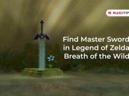 Find Master Sword in Legend of Zelda Breath of the Wild