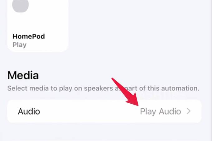 HomePod mini Audio Automation