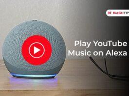 Play YouTube Music on Alexa