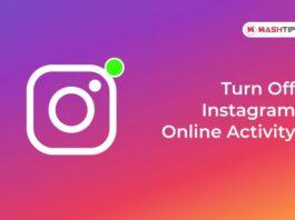 Turn Off Instagram Online Activity