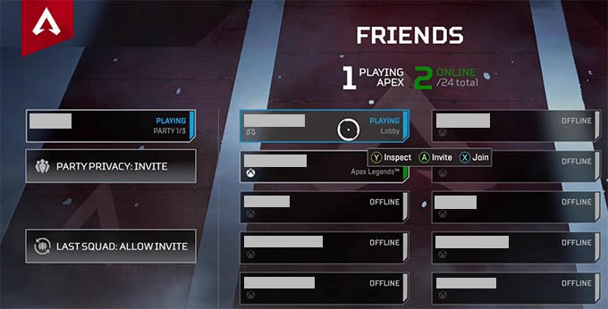 Apex Legends Crossplay with Friends