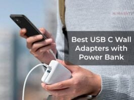Best USB C Wall Adapters with Power Bank