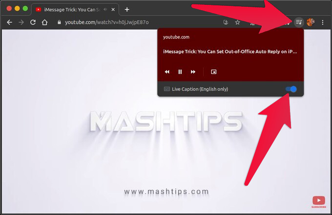 Enable Live Captions on Google Chrome