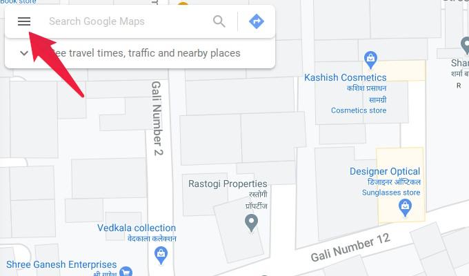 Open maps.google.com