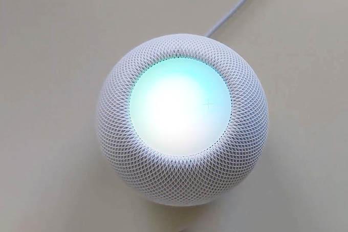 HomePod mini Siri Volume Control