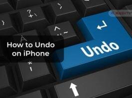 How to Undo on iPhone