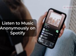Listen to Music Anonymously on Spotify with Spotify Private Session
