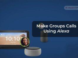 Make Groups Calls Using Alexa