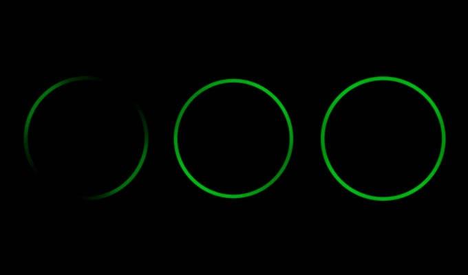 Pulsing Or Spinning Green Ring Light in Alexa