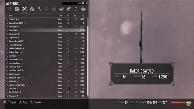 Skyrim Tips One Handed Weapons