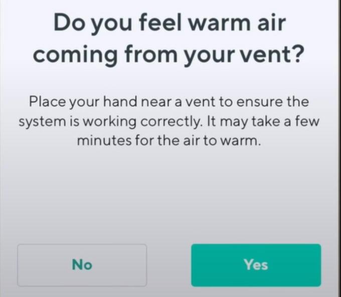 Wyze Thermostat Tips System Test