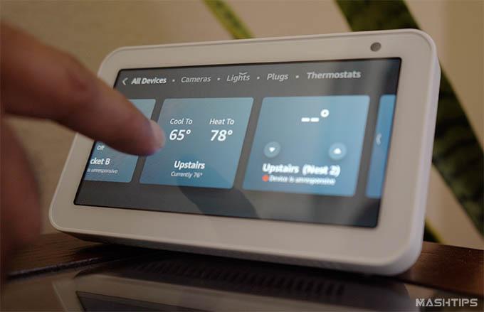 Wyze Thermostat Alexa Support